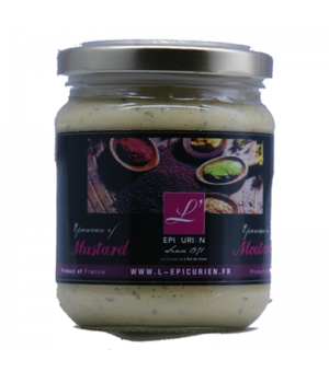 Moutarde au piment d'espelette 200g