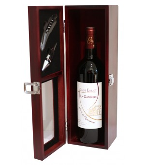 Coffret sommelier St-Emillion grand crue L'Epicurien